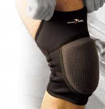 Precision Padded Neoprene Knee Support (Black) Small