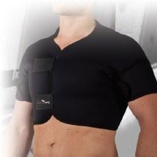 Precision Full Shoulder Support (Black) Small