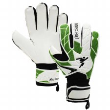 Precision Fusion X3D Junior Goalkeeper Gloves (White Green) 4