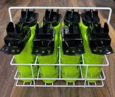 Precision Hygiene 8 Bottles + Carrier (Green Black)