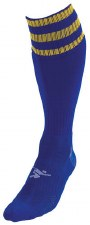 Precision Pro Football Sock (Royal Amber) Uk Size Boys 3-6