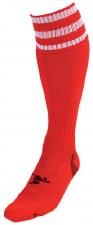 Precision Pro Football Sock (Red White) Junior 12-2