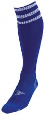 Precision Pro Football Sock (Royal White) Uk Size Boys 3-6