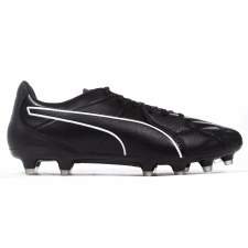 Puma King Hero Firm Ground (Black White) 6