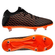 Puma Future 6.4 Soft Ground (Black Orange) 6