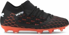Puma Future 6.3 Netfit Firm Ground Boys (Black Orange) 1
