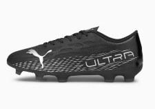 Puma Ultra 4.3 Firm Ground (Black Silver) 6