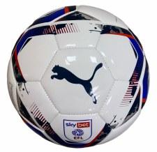 Puma EFL TeamFINAL 6 Training Ball (White Red Blue) Size 5
