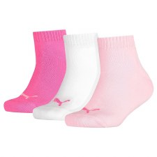 Puma Quarter Training Sock (Pink Mix) Uk 2.5 to 5.5