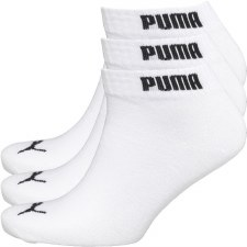 Puma Quarter Training Sock (White) Uk 6 to 8