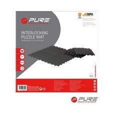 Pure2improve PE Puzzle Mat (Black) 8 Pack