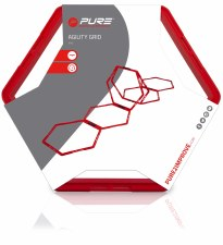 Pure2improve Hexagon Agility Grid (Red)