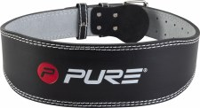 Pure2improve Weight lifting Belt (Black) Large