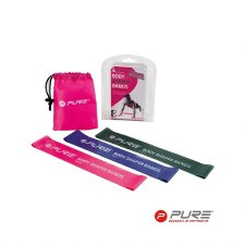 Pure2improve Body Shaper Bands (Pink Purple Green)