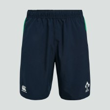 Canterbury Ireland Vapodri Woven Gym Short 2019-20 (Navy Green) Small