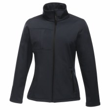 Regatta Octagon II Ladies Softshell Jacket (Navy) 10