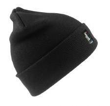 Result Thinsulate Hat (Black) Adults One Size
