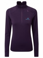 Ron Hill Stride Matrix 1/2 Zip (Purple Aqua Mint) 8