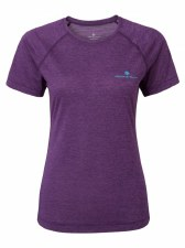 Ron Hill Momentum Short Sleeve Tee (Purple Aqua Mint) 8