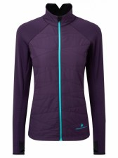 Ron Hill Stride Hybrid Jacket (Purple Aqua Mint) 12