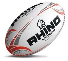 Rhino Meteor Match Ball (White Red Black) 5