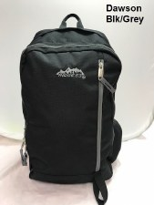 Ridge 53 Dawson Backpack (Black Grey)