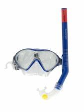 Rucanor Dolphina Snorkle Set (Blue Clear) Junior