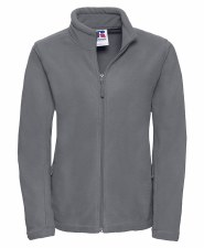 Russell Full Zip Ladies Fleece (Grey) Medium