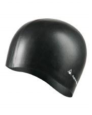 Aqua Sphere Silicone Swim Cap (Black)