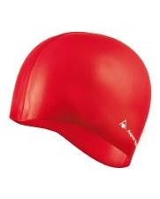 Aqua Sphere Silicone Swim Cap (Red)