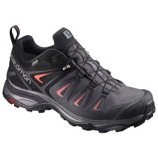 Salomon X Ultra 3 GTX Womens (Black Pink) 5