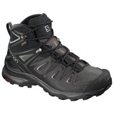 Salomon X Ultra 3 Mid GTX Womens (Magnet Black) 5