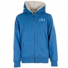 Saltrock Surfer Girl Fleece Lined Hoody (Blue) 7-8