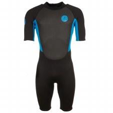Saltrock Core Shortie 3/2 Wetsuit (Black Blue) Small