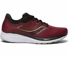 Saucony Guide 14 Mens (Mulberry Lime) 8