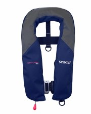 Seago Seaguard 165N Automatic Lifejacket With Harness (Navy Grey)
