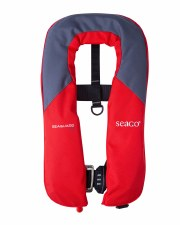 Seago Seaguard 165N Automatic Lifejacket With Harness (Red Grey)
