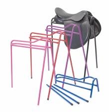 Shires EZI-KIT Collapsible Saddle Stand (Blue)