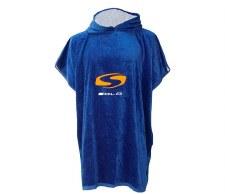 Sola Towel Changing Robe (Royal Blue Orange) Small-Medium