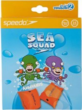 Speedo Sea Squad Armbands (Orange) 0-2