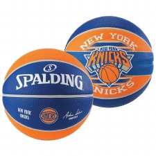 Spalding NBA New York Nicks (Blue Orange) Size 7