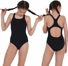 Speedo Endurance+ Medalist Swimsuit Junior (Black) 9-10