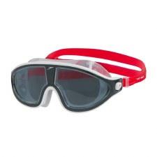 Speedo Biofuse Rift Mask (White Red Smoke Lens) Adult