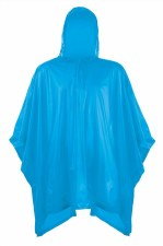 Splashmacs Plastic Poncho (Sapphire) Junior One Size 6 to 12 Years