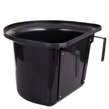 Stubbs Plastic Portable Manger Feeder (Black) 15L