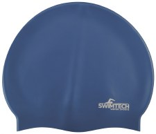 SwimTech Silicone Swim Cap Royal