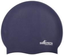SwimTech Silicone Swim Cap Navy