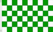 TCF 5X3 Checker Flag (Green White)