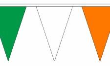 TCF Green White Orange Bunting 10M