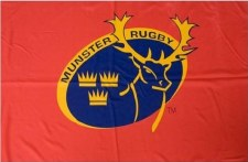 TCF Munster Rugby Flag 5x3